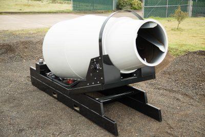 Skid Mount Mixer Portable Concrete Mixer Specialist
