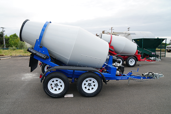 MixKing Trailers - Portable Concrete Mixer Specialist - Cart-Away