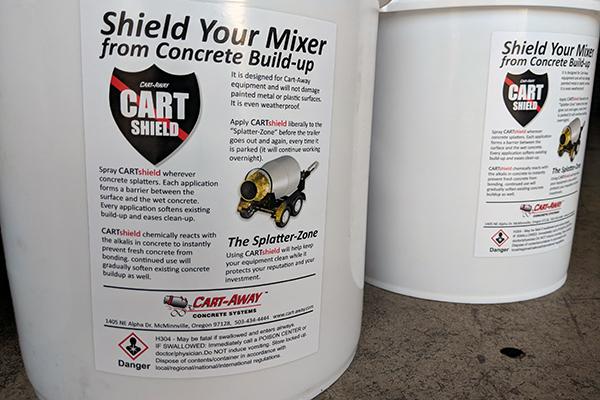 portable concrete mixer cleaner